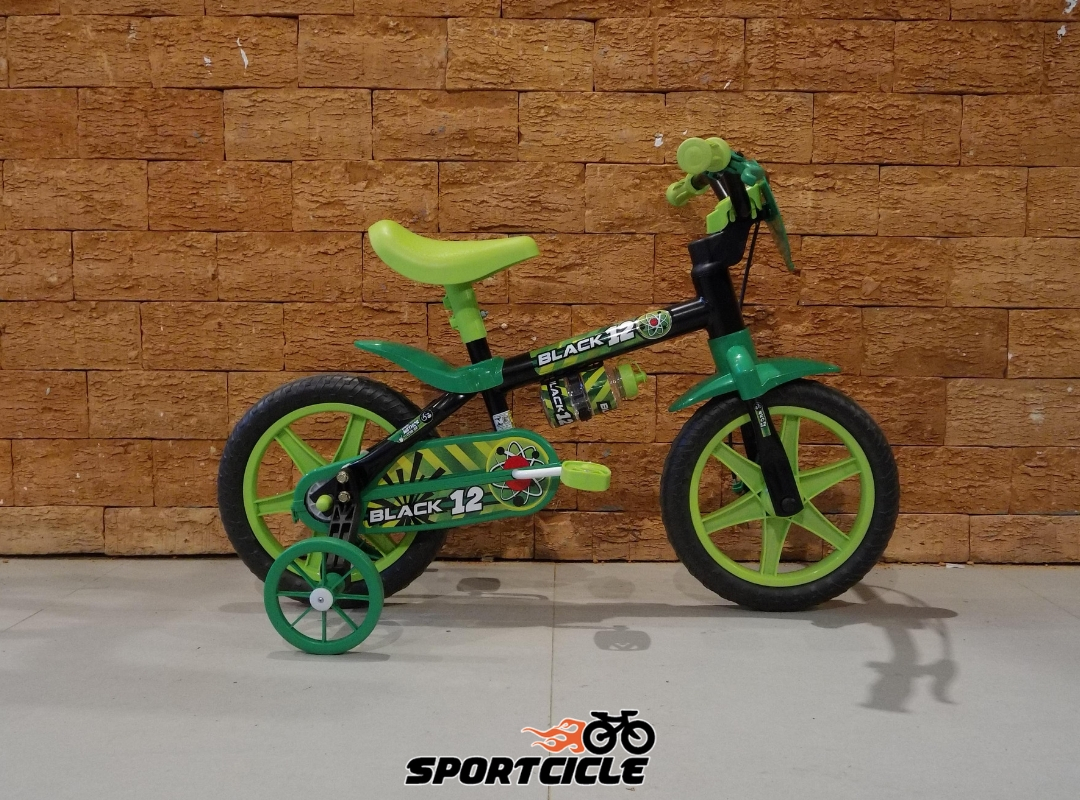 37c1eed97 Bicicleta Infantil Nathor Aro 12 – Black 12 - Sportcicle