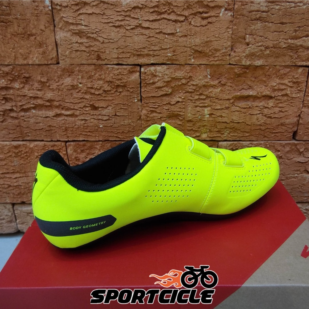 aac9f3acb24 Sapatilha Specialized Torch 1.0 Estrada - Amarelo - Sportcicle