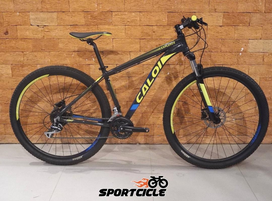 3053f07ff Bicicleta Caloi Explorer Comp - Sportcicle